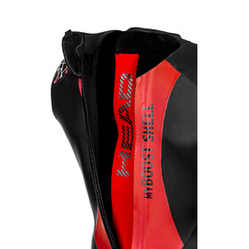Head OW myBoost Shell LJ 3.2 Wetsuit Heren, black/red